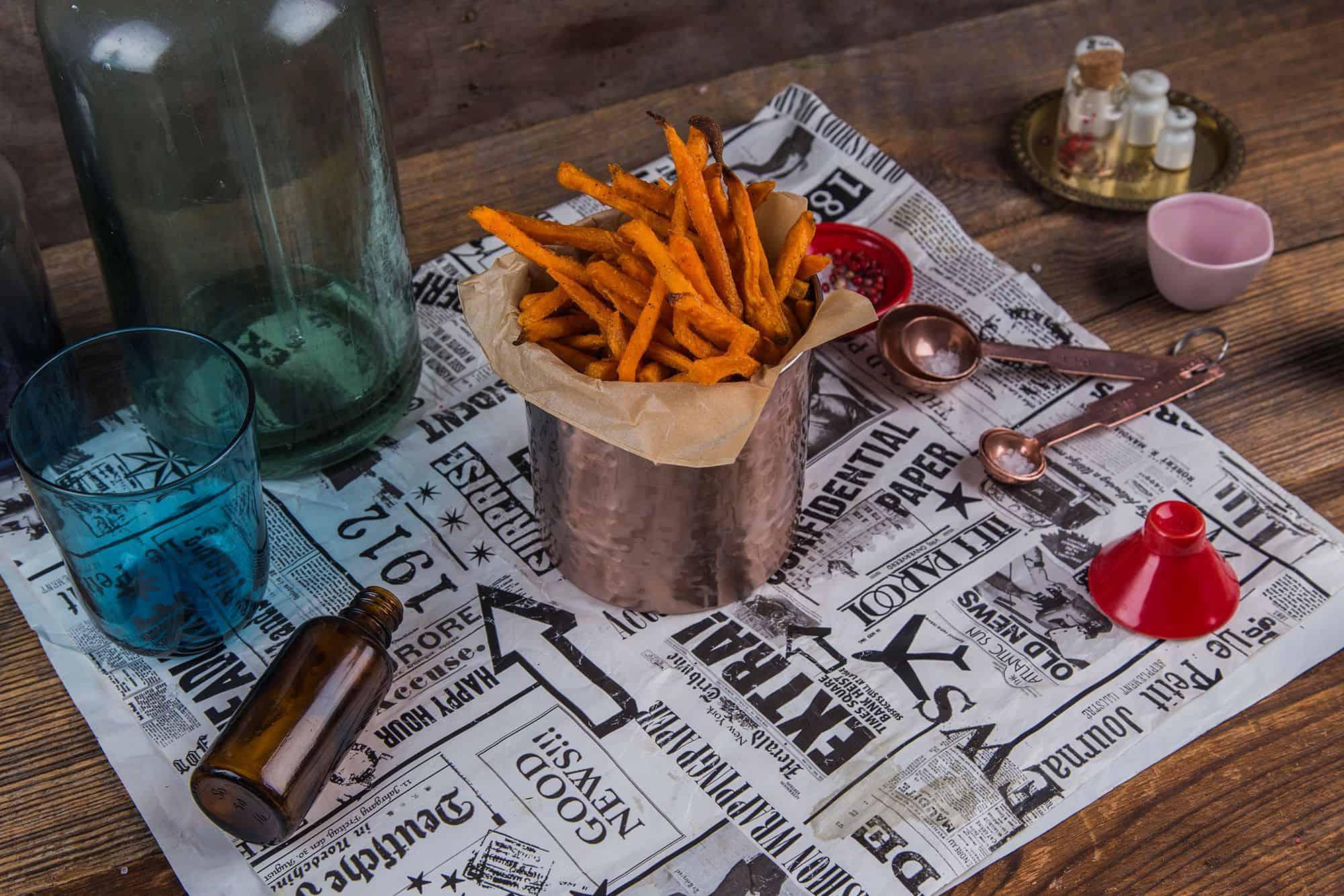Obrazek Fryty domowe z batata